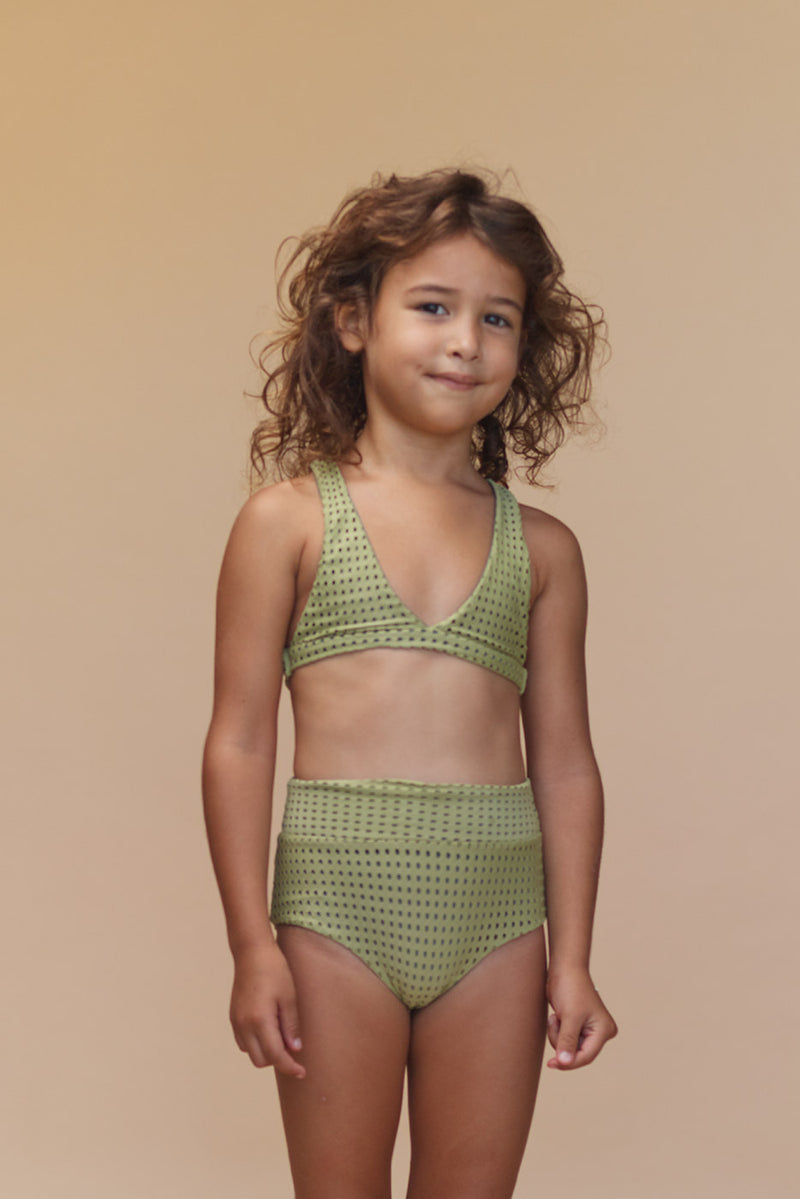KIDS TAMARINDO MESH TOP - RESORT 2020