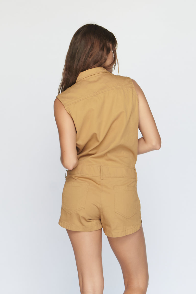 UTAH COTTON TWILL JUMPSUIT - SUMMER 2020
