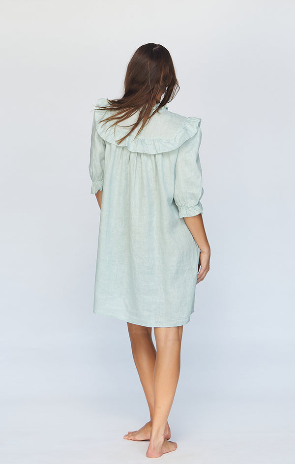 LAHAINA LINEN DRESS - PRE FALL 2020