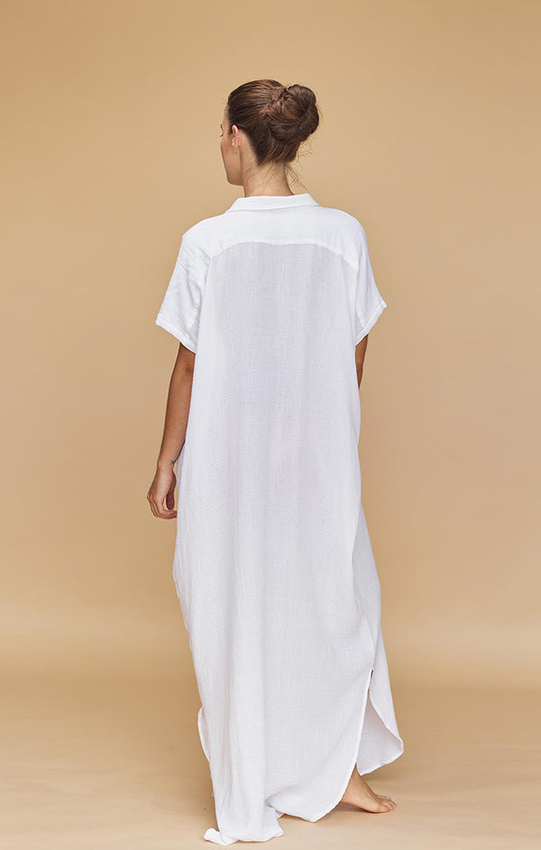 OAHU COTTON GAUZE DRESS - PRE FALL 2020