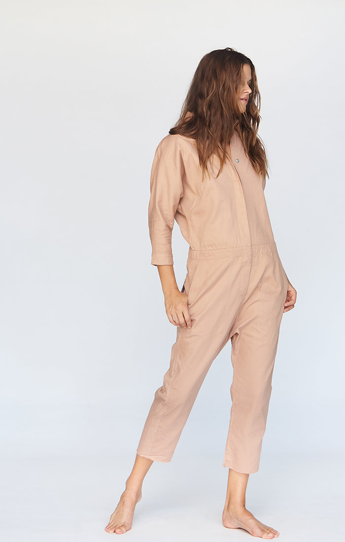 SAN FRAN COTTON TWILL JUMPSUIT - PRE FALL 2020