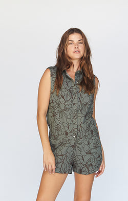 UTAH COTTON TWILL JUMPSUIT - PRE FALL 2020
