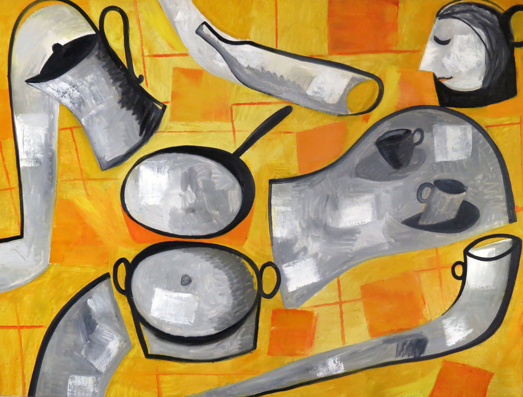 Pots And Pans Nude, 2009