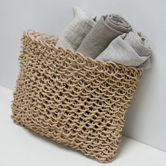 Linen Bath Towels Natural