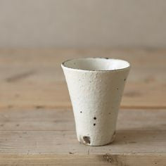 Kohiki Tall Tumbler Cups / White / Natural