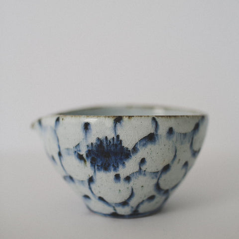 Arabesque Lipped Bowl Ingdio Glaze