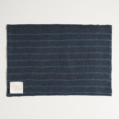 Reversible Kaya Hemp Blue Stripe Front / Blue Linen Back