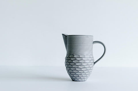 Grey Pitcher / Tall