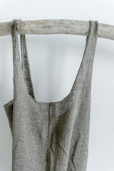 Linen Market Bag / Grey