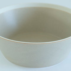 Dishes- Bowl Large/ Beige