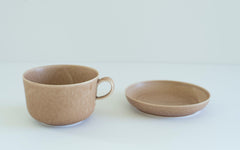 RelRabo Cups & Saucer / Brown
