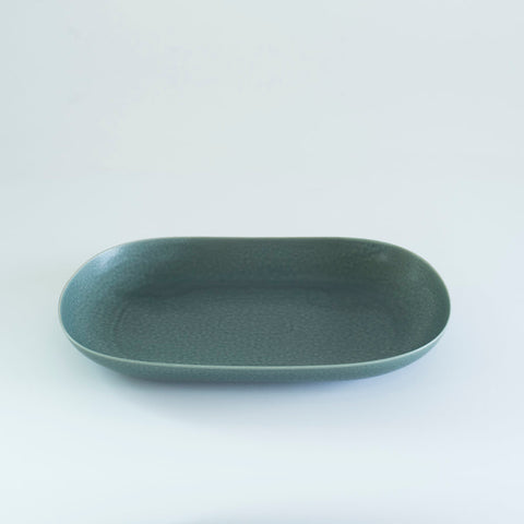 RelRabo Oval Serving Plate Small / Gray