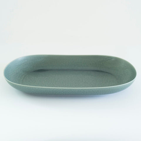 RelRabo Oval Serving Plate Large / Grey