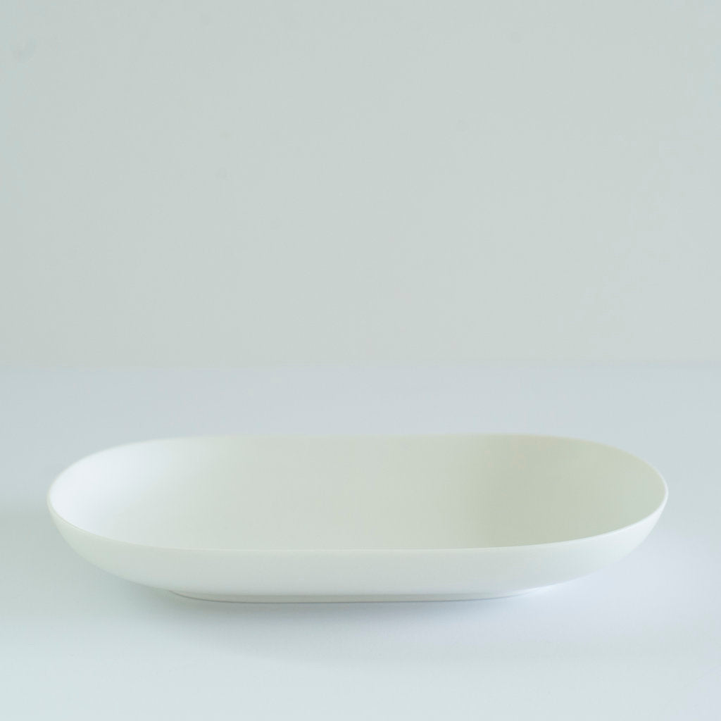 RelRabo Oval Serving Plate Small / White