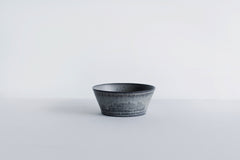Trapetized Lined Bowl Blue Black