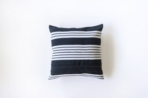 Stripe Black and White / Linen