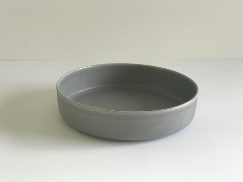 Deep Serving Plate / Grey / Small