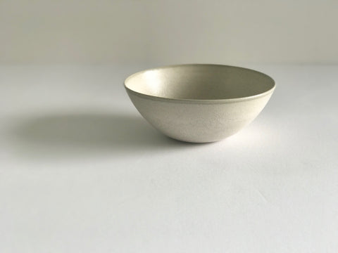 Flared Bowl S / Pearl Grey