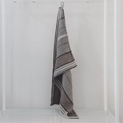 Stone Washed Linen Dish Towel / Grey