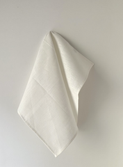 Linen White Dish Towel