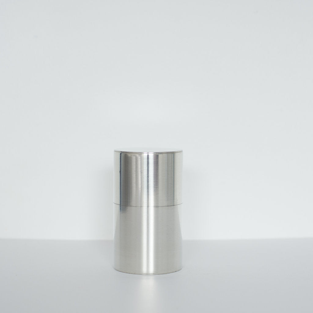 Tall Tin Tea Caddy