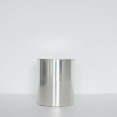 Wide Tin Tea Caddy