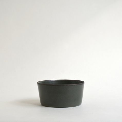 Dark Green Cereal Bowl