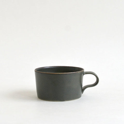 Deep Green Porcelain Mug