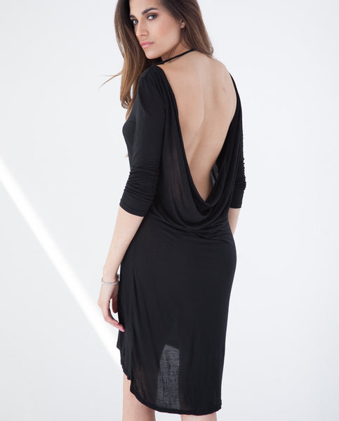 B.A.R.E. Barely There Dress - Black