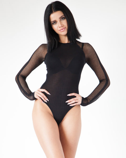 You Think You Net Me Bodysuit