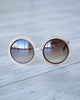 Solar Trim Sunnies - Brown