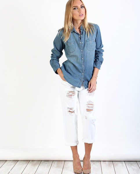 Blow Boyfriend Denim