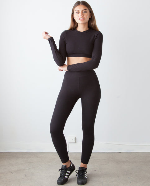 B.A.R.E. Champ Black Leggings