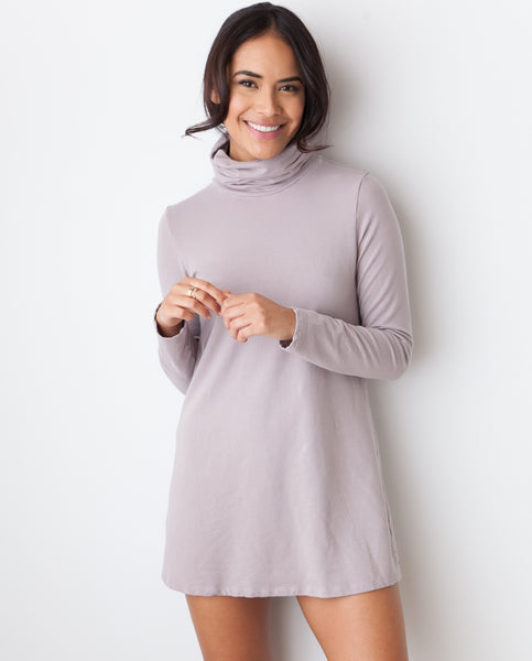 B.A.R.E. Turtleneck Mini - Mocha