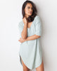 B.A.R.E. Babe Tunic Dress - Powder Blue