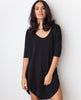 B.A.R.E. Babe Tunic Dress - Black