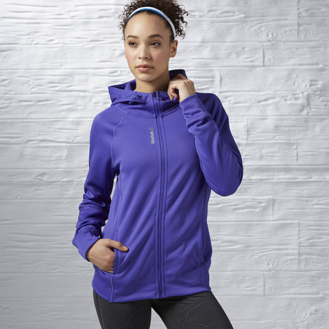 Workout ready zip hoodie