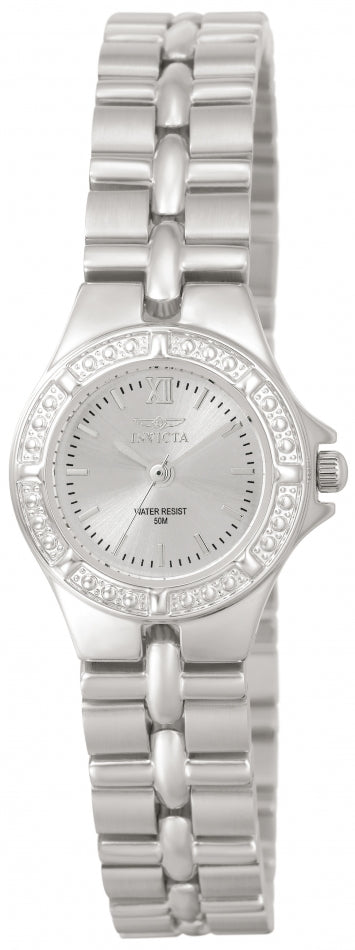 Invicta Women's 0135 Wildflower Quartz 3 Hand Silver Dial Watch