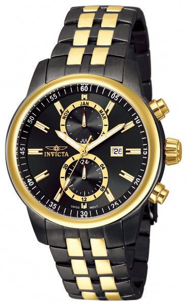 Invicta Men's 0254 Specialty Quartz Chronograph Black Dial Watch