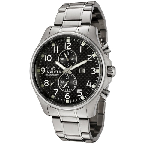 Invicta Men's 0379 Specialty Quartz Chronograph Black Dial Watch