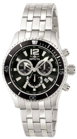 Invicta Men's 0621 Specialty Quartz Chronograph Black Dial Watch