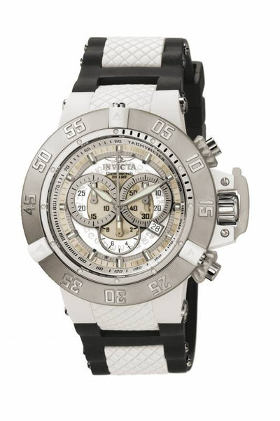 Invicta Men's 0924 Subaqua Quartz Chronograph White Dial Watch