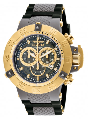 Invicta Men's 0930 Subaqua Quartz Chronograph Grey Dial Watch