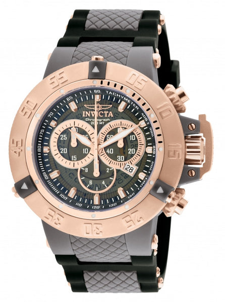 Invicta Men's 0932 Subaqua Quartz Chronograph Grey Dial Watch