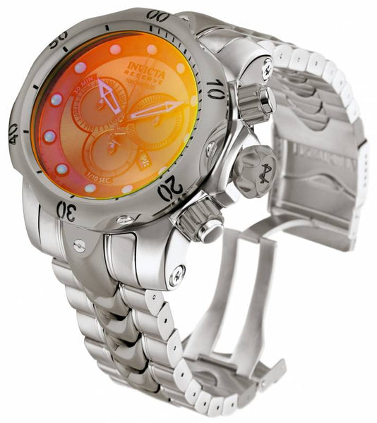 Invicta Men's 0967 Venom Quartz Chronograph Titanium Dial Watch