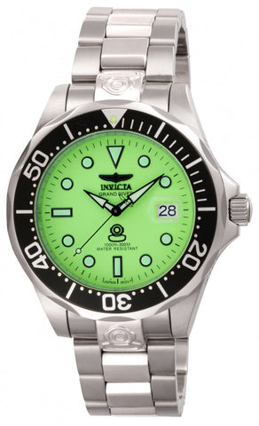 Invicta Men's 10641 Pro Diver Automatic 3 Hand Green Dial Watch