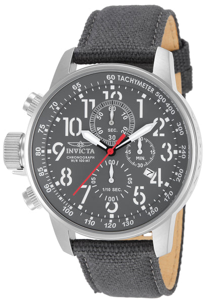 Invicta Men's 11525 I-Force Quartz Chronograph Grey Dial Watch
