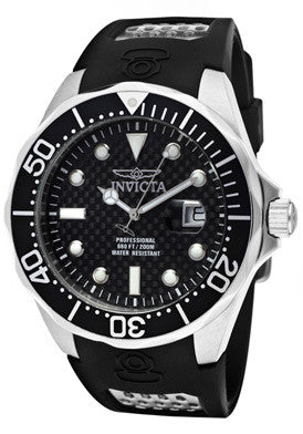 Invicta Men's 12558 Pro Diver Quartz Black Dial Watch