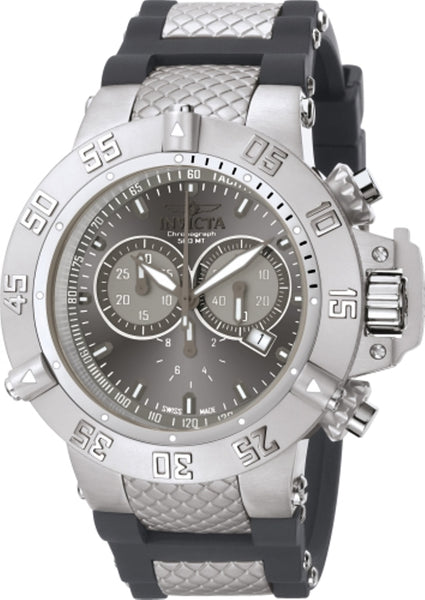 Invicta Men's 1382 Subaqua Quartz Chronograph Grey Dial Watch