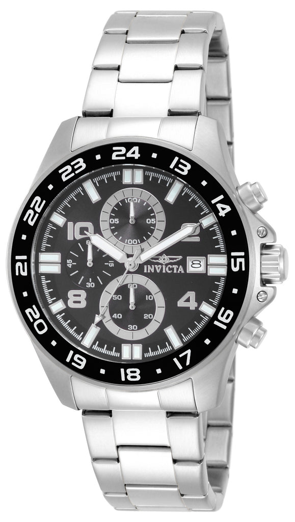 Invicta Men's 13864 Pro Diver Quartz Multifunction Black Dial Watch
